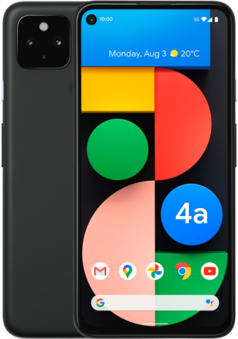 Google Pixel 4A 5G Catalog English