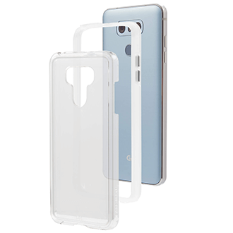Clear Case-Mate Naked Tough - LG G6 Case Angled View