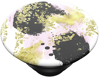 Angled PopSockets Gilded Glam PopTop Expanded