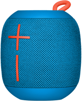 Subzero Blue Ultimate Ears Wonderboom Speaker Side View