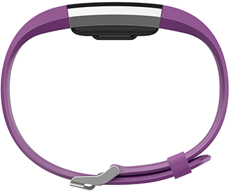 Plum Fitbit Charge 2 Side View