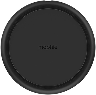 Black Mophie Charge Stream Pad+ Top