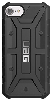 Black UAG Pathfinder - iPhone 6/6s/7/8 Case Back View