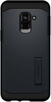 Metal Slate Spigen Slim Armor Galaxy A8 Case Back