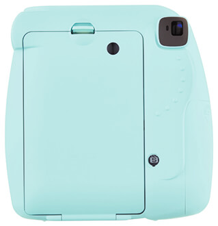 Ice Blue Instax Mini 9 Back View