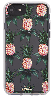 Pink Pineapple Sonix iPhone 6/6s/7/8 Clear Case Back View