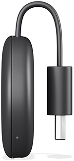 Charcoal Google Chromecast Side