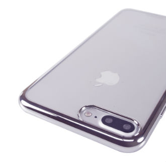 Gun Metal Viva Madrid Metalico Flex - Samsung  iPhone 7 Plus/8 Plus Case Angled View