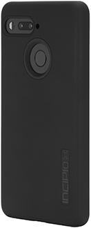 Black Incipio DualPro Essential Phone Case Angled Back View