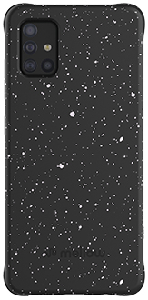Starry Night Mellow Galaxy A51 Case Back