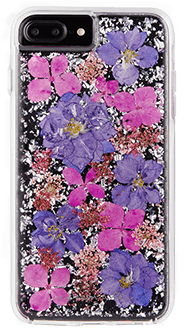 Purple Case-Mate Karat Petals - iPhone 7 Plus/8 Plus/6 Plus/6S Plus Case Back View
