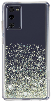 Ombre Stardust Case-Mate Twinkle Galaxy S20 FE 5G Case from the Back