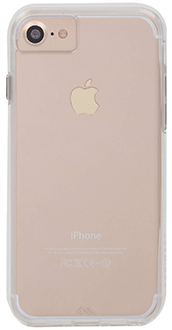 Étui Naked Tough transparent de Case-Mate – Vue arrière de l'étui du iPhone 6/6s/7/8/SE d'Apple