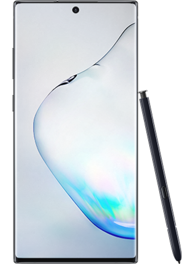 Samsung Galaxy Note 10 Plus Aura Black with Stylus
