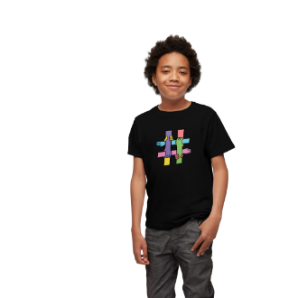 TELUS #EndBullying Youth Shirt Black