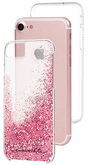 Rose Gold Case-Mate Waterfall - iPhone 6/6s/7/8 Case with Phone