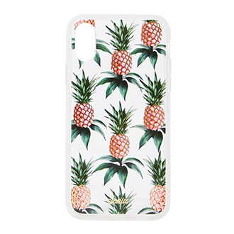 Pink Pineapple Sonix Clear Coat iPhone XR Case Back