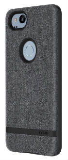 Gray Incipio Esquire Series - Google Pixel 2 Case Back View
