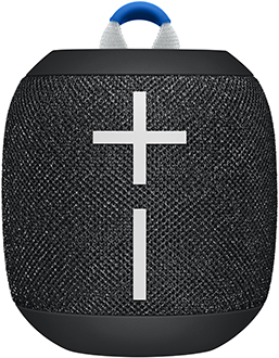 Deep Space Black Ultimate Ears Wonderboom 2 Bluetooth Speaker Front