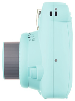 Ice Blue Instax Mini 9 Side View