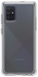 Clear OtterBox Galaxy A71 Symmetry Case Back