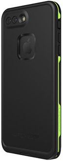 Night Lite LifeProof iPhone 8 Plus FRĒ Case Angled Back View