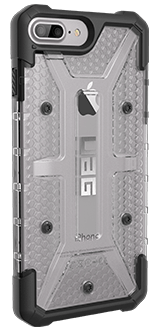 Ice UAG Plasma - iPhone 6 Plus/6s Plus/7 Plus/8 Plus Case Angled View