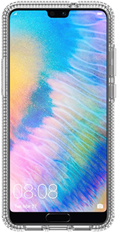 Clear Otterbox Huawei P20 Prefix Case Front