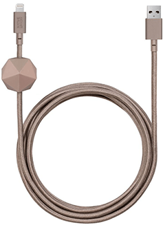 Taupe Native Union ANCHOR Cable KV Lightning - Front View