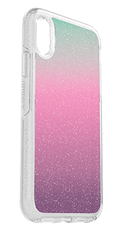 Gradient Energy OtterBox iPhone XR Symmetry Case Angled View