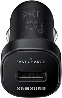 Samsung Fast Charge Car Charger Back View