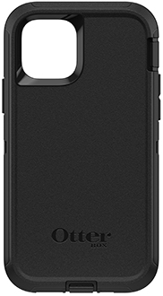Black OtterBox iPhone 11 Pro Defender Case Back
