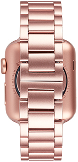 Rose Gold Case-Mate 38mm Apple Watch Band Back View
