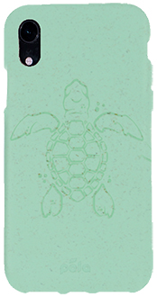 Ocean Turquoise Turtle Pela iPhone XR Case Back