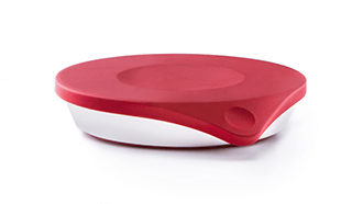 Red Drop Connected Kitchen Scale Front View