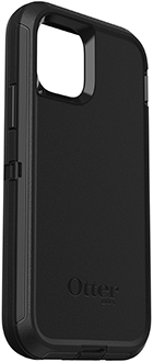 Angled Black OtterBox iPhone 11 Pro Defender Case Back