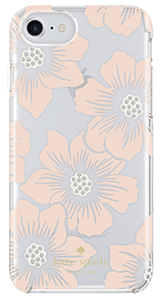 Hollyhock Floral kate spade iPhone 6/6s/7/8 Case Back View