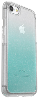 Aloha Ombre Otterbox iPhone 7/8 Symmetry Case Angled Back View