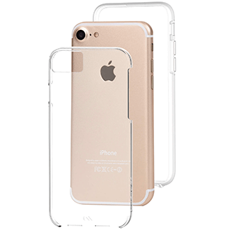 Clear Case-Mate Naked Tough - Apple iPhone 6/6s/7/8 Case Angled View