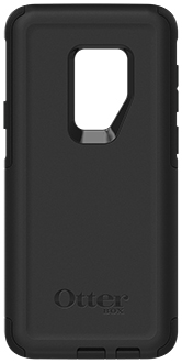 Black OtterBox Galaxy S9+ Commuter Case Back
