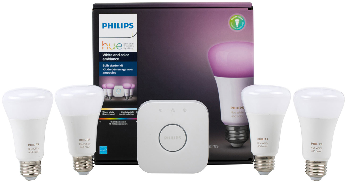 Philips Hue A19 Starter Kit Contents