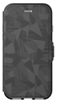 Black Tech 21 Evo Wallet - iPhone 7/8 Case Front View