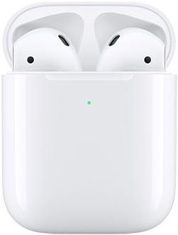 Gen 2 AirPods in Wireless Charging Case Front