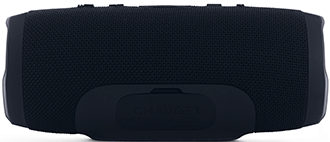 Black JBL Charge 3 Speaker Back View