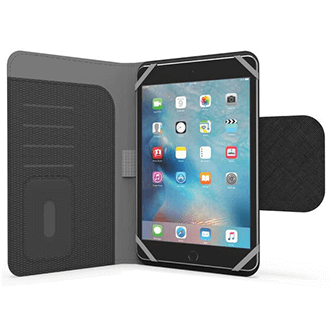 Black PureGear Elite Tablet Folio - Universal Tablet Case Front View