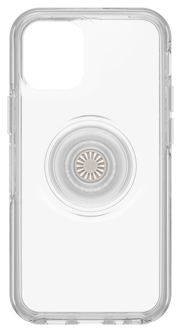 Clear Otter + Pop Symmetry iPhone 12 Pro Max Case Back