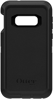 Black OtterBox Galaxy S10e Defender Case Back