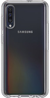 Clear OtterBox Galaxy A50 Symmetry Case Back