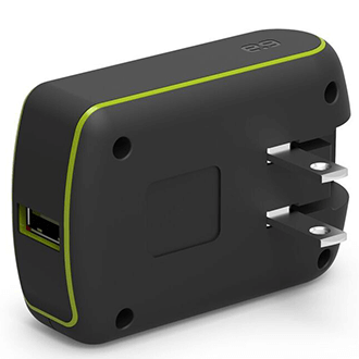 Black PureGear Extreme Wall Charger with Qualcomm Quick Charge 3.0 2