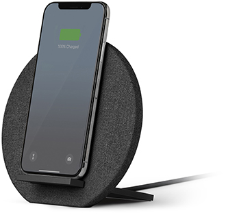 Slate Native Union DOCK Wireless Charger Charging Phone